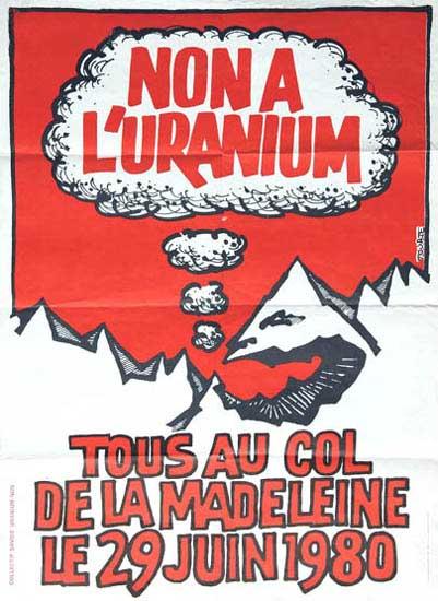Non a L'uranium, 1980