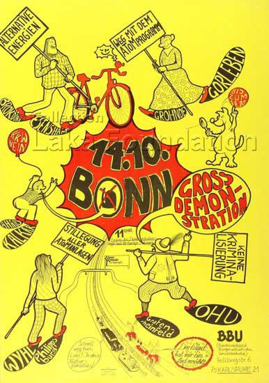 Grossdemonstration Bonn, 1979