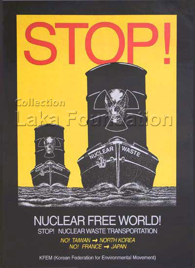 Stop nuclear waste transportation, 1997