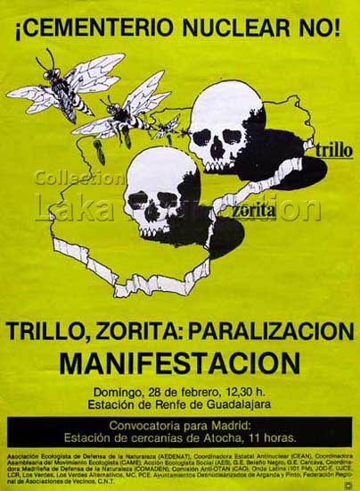 Cementerio nuclear No, 1988