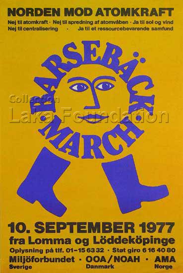 Barsebaeck-Marsch, 1977