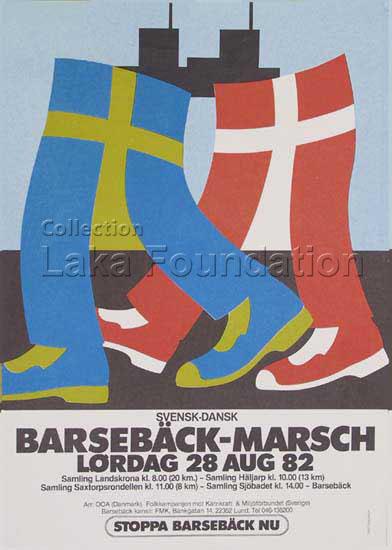 Barsebaeck-marsch, 1982