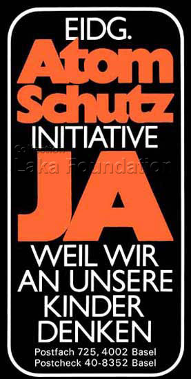 Atomschutz Initiative,JA!, 1978