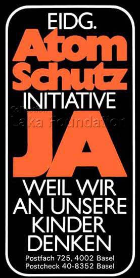 Atomschutz Initiative,JA!, 1978