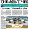 Cahos over 18bln nuclear plant