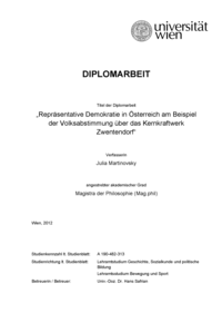 Laka Library Repräsentative Demokratie In österreich Am Beispiel