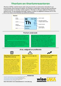 Factsheet Thorium