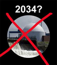 Borssele tot 2034? Nee bedankt!
