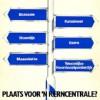 Locaties nieuwe kerncentrales (situatie 1985)