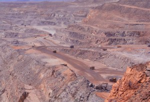 Uraniummijn in NamibiëFoto: Fleur Scheele